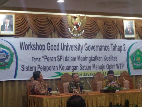 Workshop Good University Governance Tahap 2