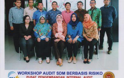 WORKSHOP DAN LOKAKARYA AUDIT SDM BERBASIS RISIKO JAKARTA, 17-18 OKTOBER 2016