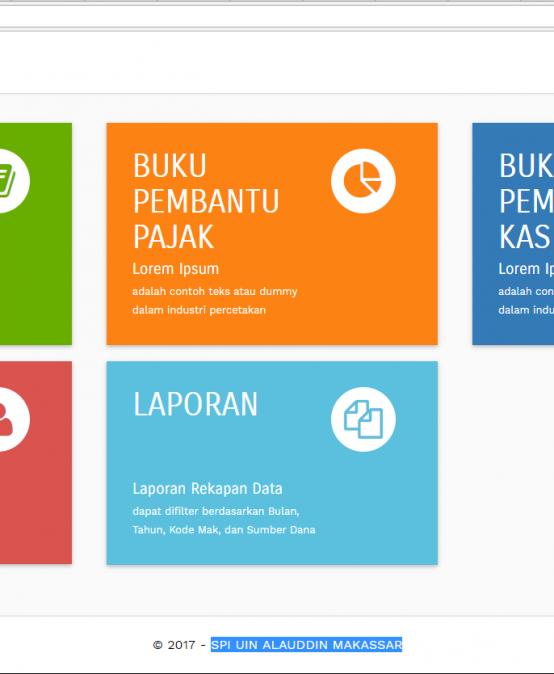 Tim IT SPI Membangun Aplikasi electronic-Buku Kas Umum (e-BKU)